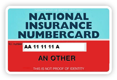 National InsuranceCard